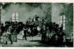 """""""Tanz im Ochsensaal"""" im Jahre 1843"""