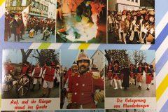 Trommgesellenpaare und Spielmannszug von 1979 - Bild von Marlene Ochs, geb. Schuh
