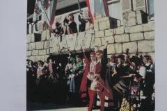Im Jahr 1956 waren die Brunnenspringer Benno Braisch und Oswin Merkt.