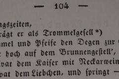 """Gedicht """"Lob des Munderkingers"""" von Carl Borromäus Weitzmann"""